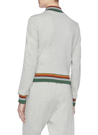 Back View - Click To Enlarge - 3.1 Phillip Lim - Stripe border track jacket