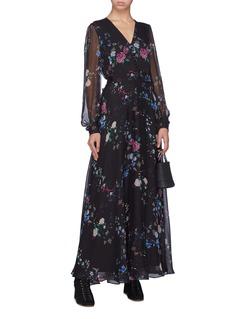 Equipment x Tabitha Simmons 'Clemense' floral print silk dress
