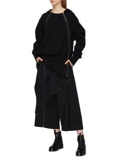 Yohji Yamamoto Side zip hoodie