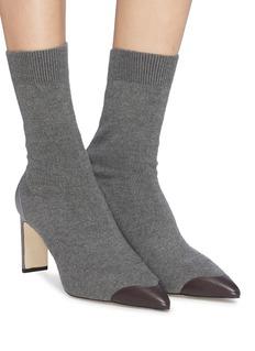 Pedder Red 'Japera' contrast toe sock knit boots