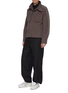 Kiko Kostadinov Throat latch chest pocket twill jacket