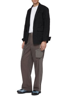 Kiko Kostadinov Colorblock twill cargo pants