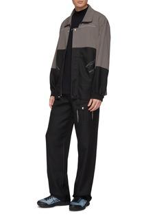 Kiko Kostadinov Geometric seam colourblock twill jacket