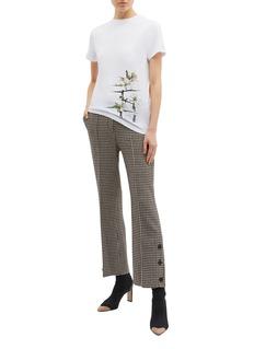 Loewe Logo botanical print T-shirt