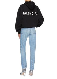 Balenciaga Logo print back hoodie
