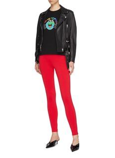 Balenciaga Logo jacquard waistband leggings
