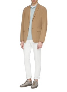 Theory 'Standard' stripe collar polo shirt