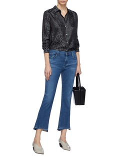 J Brand 'Selena' let-out cuff boot cut jeans