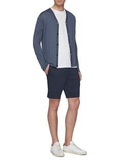Theory 'Curtis' linen blend shorts