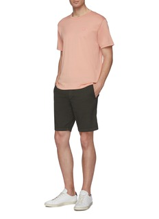 Theory 'Zaine' garment-washed shorts