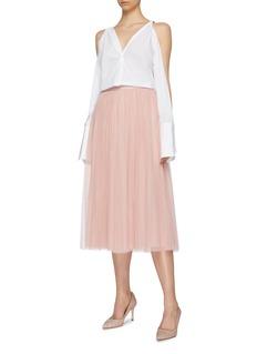 Needle & Thread 'Dotted' tulle midi skirt