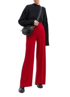 Norma Kamali Wide leg jersey pants
