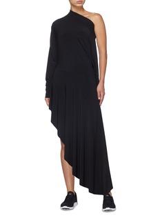 Norma Kamali 'All-in-One' asymmetric ruffle hem convertible dress