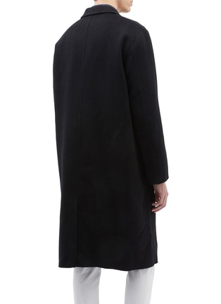Back View - Click To Enlarge - EQUIL - 'Stockholm' wool-cashmere melton oversized coat