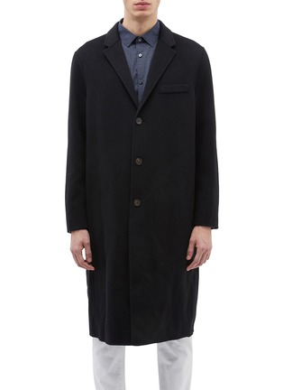 Main View - Click To Enlarge - EQUIL - 'Stockholm' wool-cashmere melton oversized coat