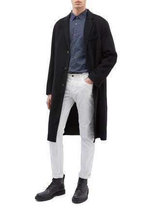 Figure View - Click To Enlarge - EQUIL - 'Stockholm' wool-cashmere melton oversized coat