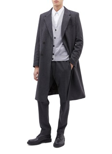 EQUIL 'Moscow' belted wool blend melton wrap coat