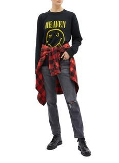 Marc Jacobs Graphic print bootleg sweatshirt
