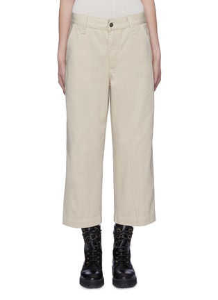 Main View - Click To Enlarge - MARC JACOBS - Dobby stripe culottes