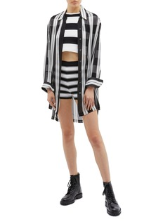 Marc Jacobs Stripe knit boy shorts