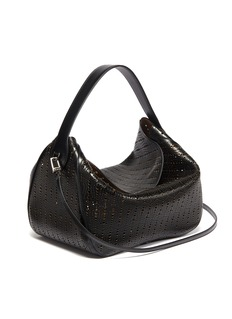 Alaïa Geometric lasercut leather shoulder bag