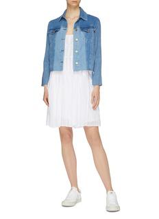 Frame Denim 'Le Vintage' colourblock denim jacket