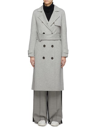 Main View - Click To Enlarge - EQUIL - 'Helsinki' belted wool-cashmere melton trench coat