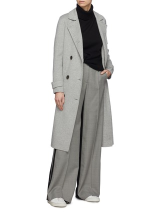 Figure View - Click To Enlarge - EQUIL - 'Helsinki' belted wool-cashmere melton trench coat