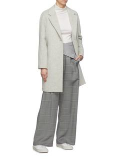 EQUIL 'Sapporo' oversized wool blend melton coat