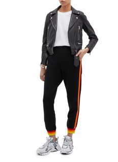 Opening Ceremony Stripe outseam knit jogging pants