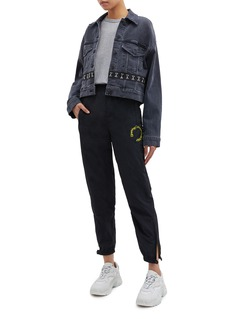 Opening Ceremony Logo embroidered jogging pants