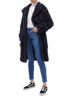 Proenza Schouler PSWL faux shearling oversized coat