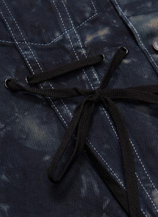 - Proenza Schouler - PSWL drawstring waist tie-dye denim jacket