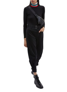 Proenza Schouler PSWL 'Utility' belted adjustable cuff twill pants