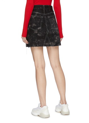 Back View - Click To Enlarge - PROENZA SCHOULER - PSWL bleached denim mini skirt