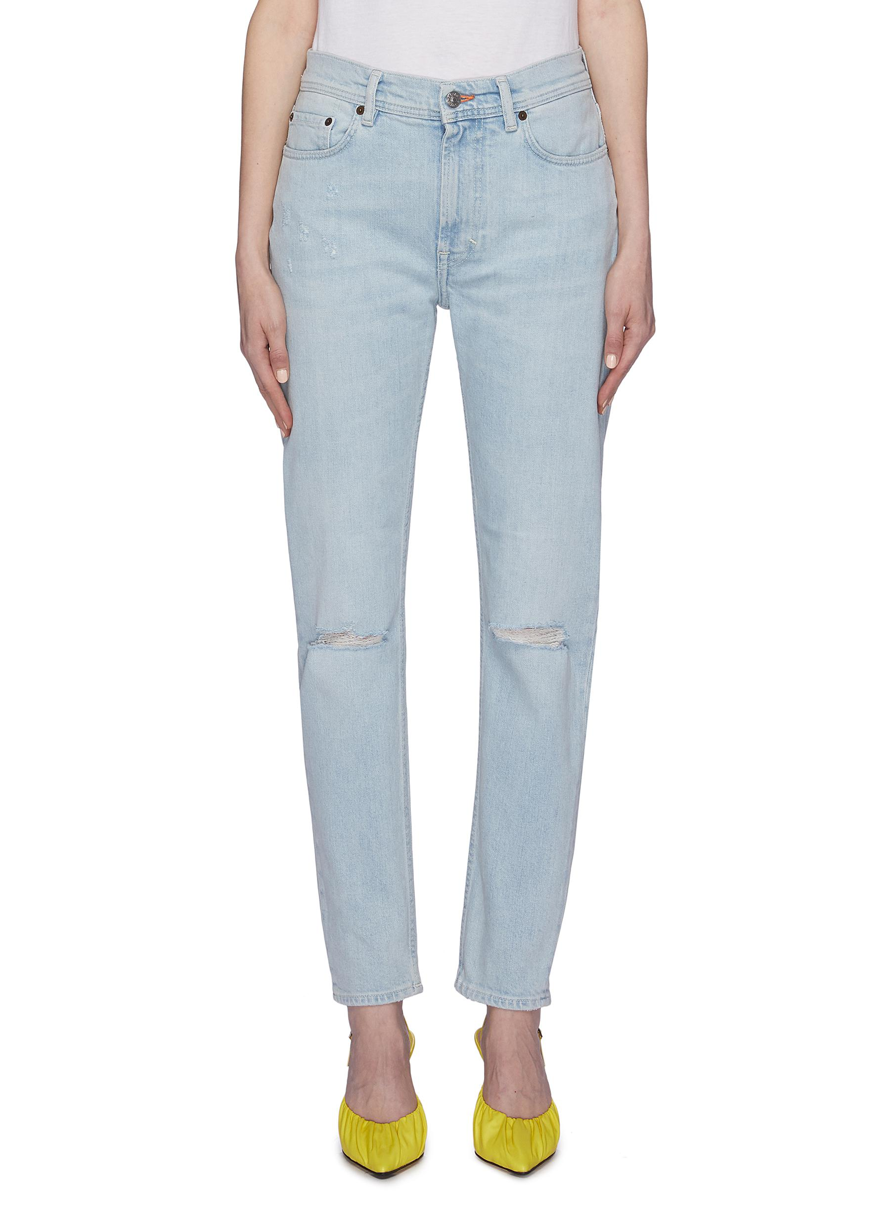 Ripped skinny jeans by Acne Studios