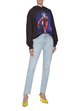 Figure View - Click To Enlarge - ACNE STUDIOS - Ripped skinny jeans