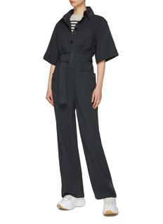 Acne Studios Belted patch pocket jumpsuit