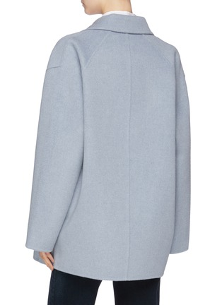 Back View - Click To Enlarge - Acne Studios - Wool-cashmere double breasted coat