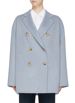 Main View - Click To Enlarge - Acne Studios - Wool-cashmere double breasted coat