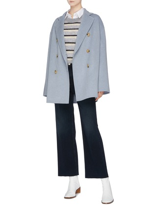 Figure View - Click To Enlarge - Acne Studios - Wool-cashmere double breasted coat