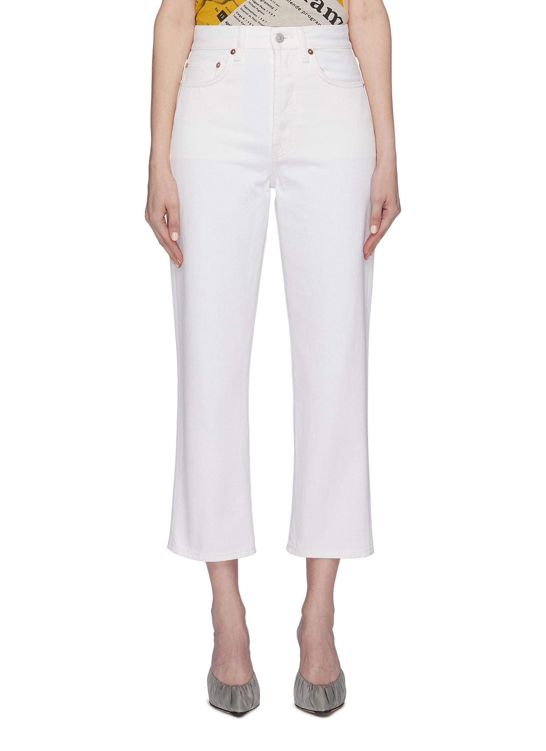 Cropped jeans by Acne Studios