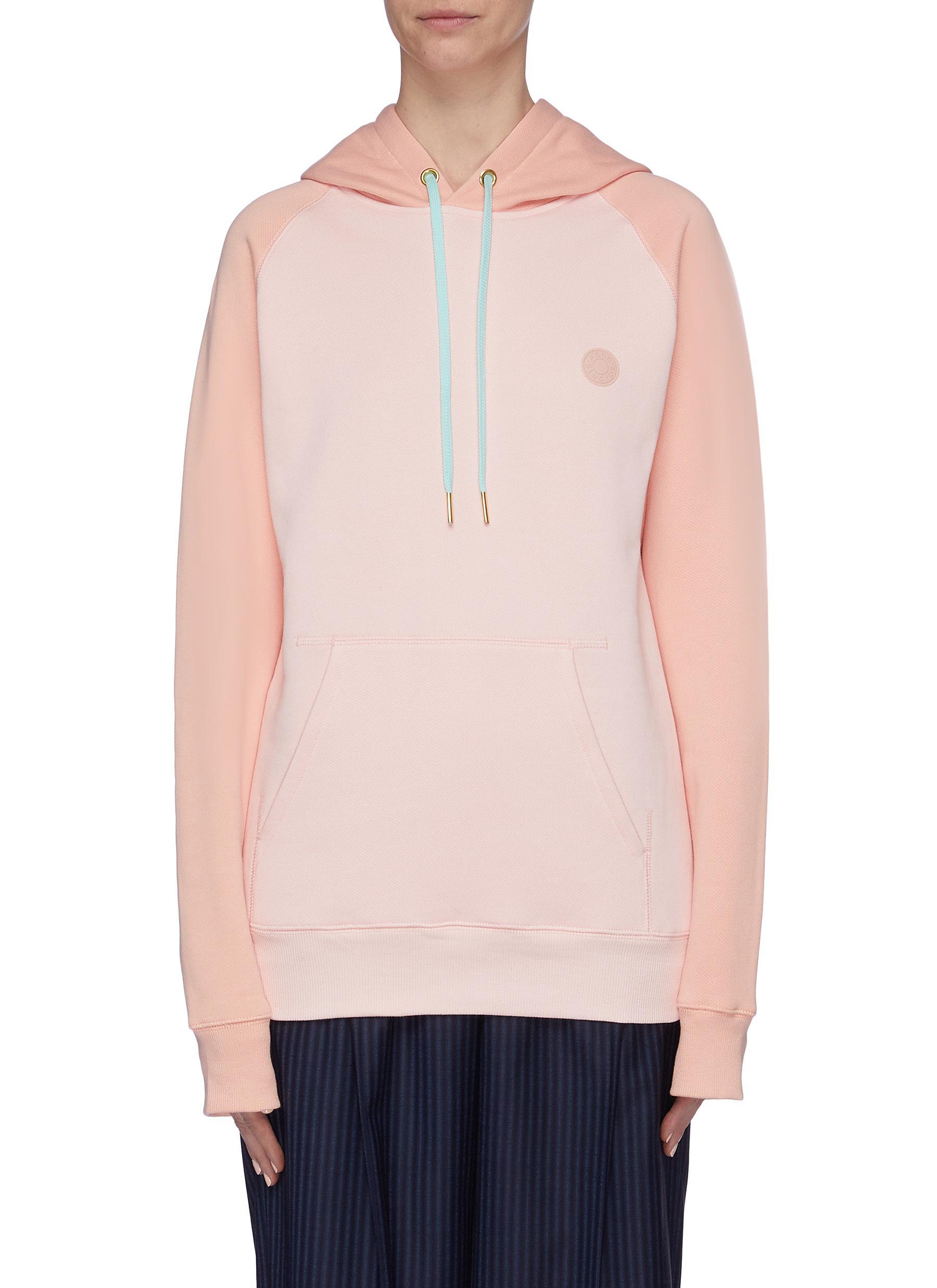 Colourblock hoodie by Acne Studios