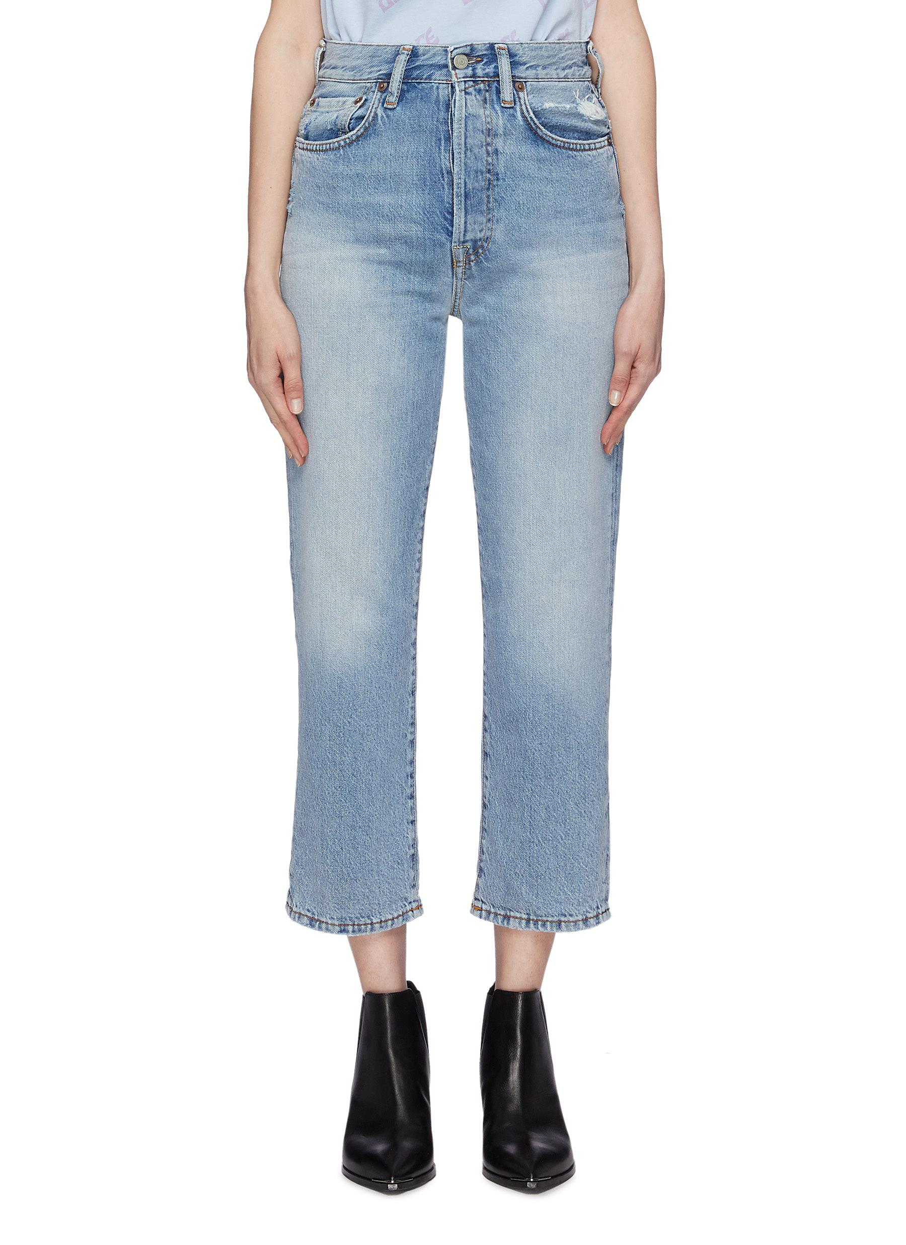 Mavi Donna Jeans Kendra-Straight Fit-Blu-INK Valencia