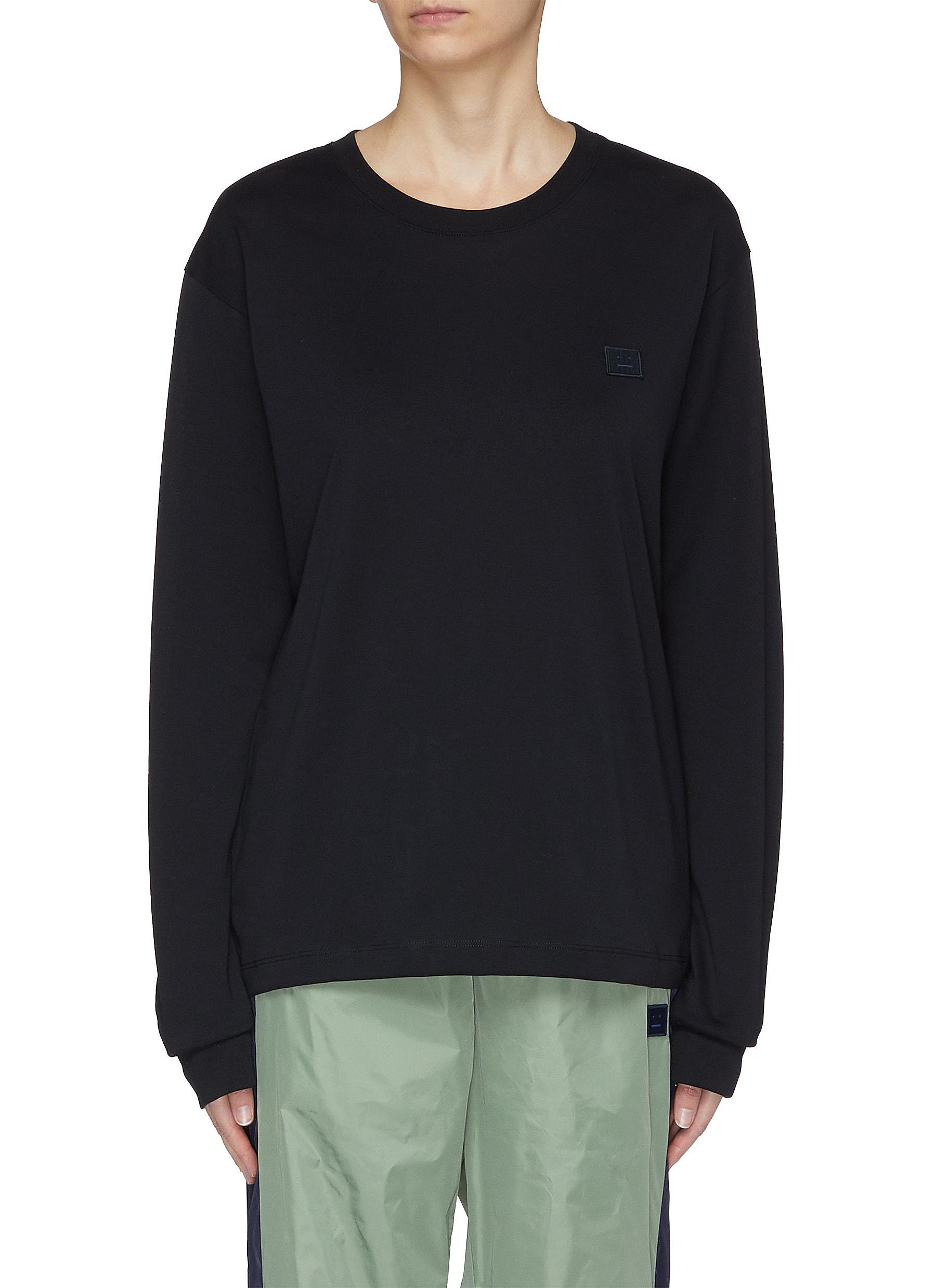 Patch long sleeve T-shirt by Acne Studios