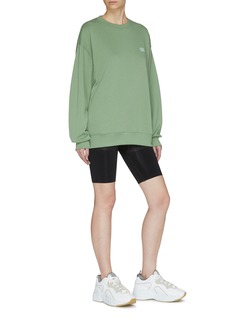 Acne Studios 'Forba Face' patch oversized sweatshirt