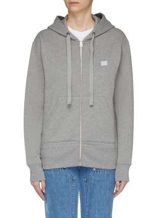 Main View - Click To Enlarge - Acne Studios - Face patch hoodie
