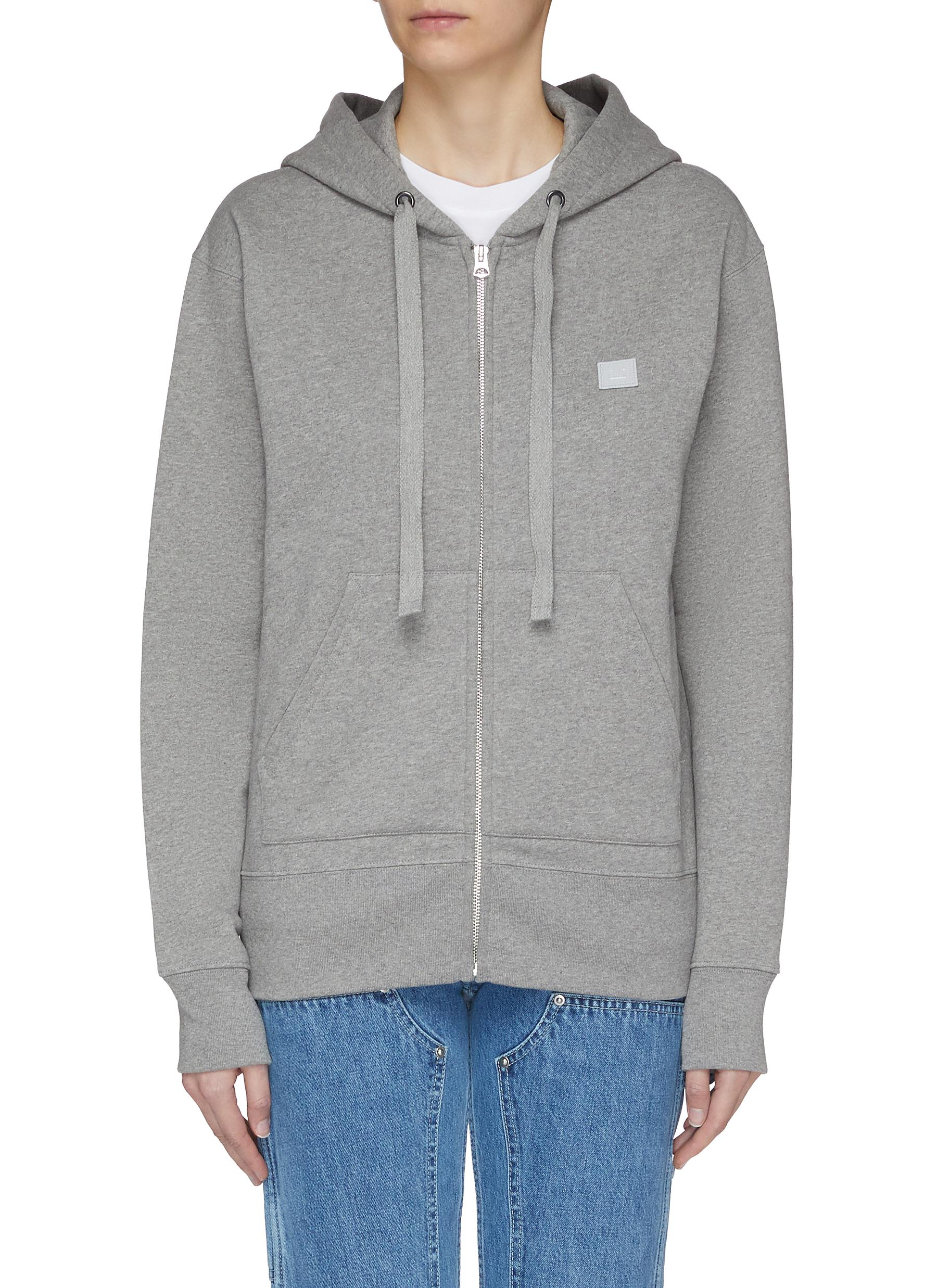 Face patch hoodie by Acne Studios