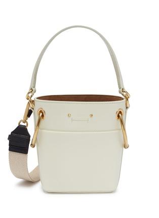 Chloé Roy Oversized Ring Small Leather Bucket Bag Women Lane Crawford