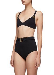 Lisa Marie Fernandez 'Magdalena' belted bikini set